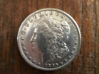 1880 MORGAN SILVER DOLLAR,