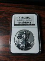 2006 P AMERICAN SILVER EAGLE DOLLAR NGC PF 69 REVERSE PROOF