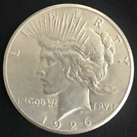 1926-P PEACE SILVER DOLLAR 90 COIN UNCIRCULATED UNC