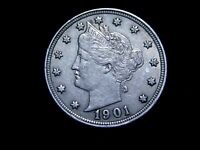 1901 LIBERTY NICKEL - HIGH GRADE  07020