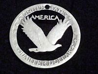 STANDING LIBERTY QUARTER HANDMADE IN ST. AUGUSTINE HOME OF THE