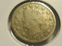 VG 1888 LIBERTY NICKEL  TOUGH TO FIND  DCA