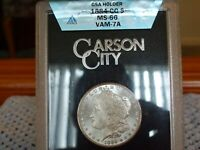1884-CC ANACS MINT STATE 66 GSA MORGAN  DOLLAR VAM 7A BOX/PAPER,ONLY 1 IN EXISTENCE