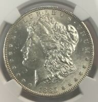 1885-S $1 MORGAN SILVER DOLLAR NGC MINT STATE 62