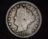 1910 UNITED STATES LIBERTY HEAD V-NICKEL