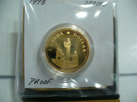 1995  CANADA 1 $  ONE  DOLLAR COIN  LOONIE     95  PROOF  COMMEMORATIVE