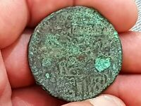 IMAZING HUGE LY  UNCERTAIN ANCIENT BRONZE COIN ZOLOTA 18 4 G