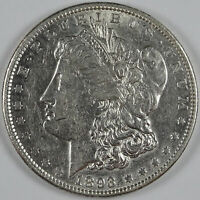 1893 P $1.00 MORGAN SILVER DOLLAR NOT GRADED AU CLEANED 6997
