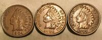 1904 1906 1907 INDIAN HEAD CENT LOT