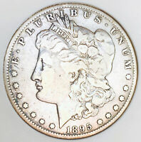 1895 S MORGAN DOLLAR ULTRA  S MINT  INCREDIBLY HARD TO FIND