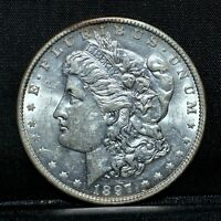 1897-O MORGAN SILVER DOLLAR  AU ALMOST UNCIRCULATED  $1  COIN TRUSTED