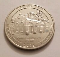 UNCIRCULATED 2016 S HARPERS FERRY NATIONAL PARK   WV  CLAD Q