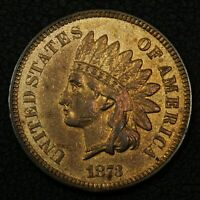1873 INDIAN HEAD CENT COPPER PENNY