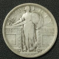1917 TYPE 1 STANDING LIBERTY SILVER QUARTER