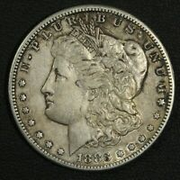 1883 S MORGAN SILVER DOLLAR   CLEANED