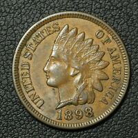 1898 INDIAN HEAD CENT COPPER PENNY