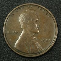 1909 VDB DOUBLED DIE OBVERSE FS 101 DDO LINCOLN WHEAT CENT COPPER PENNY