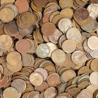 LOT OF:1000 WHEAT CENTS  $10 FACE VALUE 1940'S-1950'S