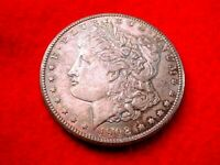 1902-0 MORGAN DOLLAR OUTSTANDING BU RAINBOW TONED DOLLAR  1