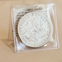 1901-O MORGAN SILVER DOLLAR WITH COA - NEW ORLEANS U.S. MINT .900 FINE SILVER