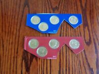 2012 P & D PRESIDENTIAL DOLLAR 8 COIN SET LOT SEALED UNCIRCULATED MINT CELLO