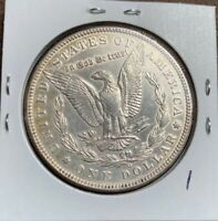 1894-O MORGAN SILVER DOLLAR, BREAST FEATHERS, AUBU DETAILS