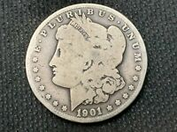 1901-O  MORGAN DOLLAR   G VG       3 OR MORE  FREE S/H      90 SILVER   B368