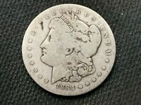 1884-S  MORGAN DOLLAR    AG G    3 OR MORE  FREE S/H      90 SILVER   B430
