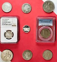 LOT  9    SILVER NGC/PCGS PR69 SLABS SILVER UNCIRCULATED E