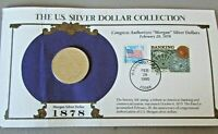 1878 MORGAN SILVER DOLLAR US SILVER DOLLAR COLLECTION - INCLUDES STAMPS