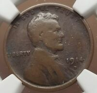 1914 D BETTER DATE LINCOLN HEAD CENT G 6 BROWN NGC 1012 23