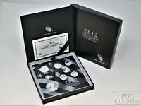 2012 US MINT LIMITED EDITION SILVER PROOF SET 8 COIN SET WIT