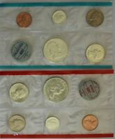 1963 P&D US MINT SET   UNCIRCULATED IN UNOPENED CELLO PACKS