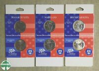 SET OF 3   2000 FIFTY STATE QUARTERS 2 COIN SET   U.S. MINT