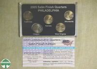 2005 P 50 STATES COMMEMORATIVE QUARTERS SET IN BOX W/ PAPERS