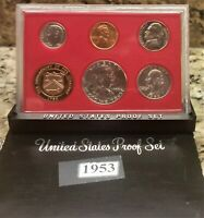1953 GEM US PROOF SET REPACKAGED INTO 1980'S STYLE PROOF SET