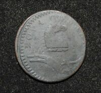 1787 US COLONIAL NEW JERSEY COPPER CENT COIN