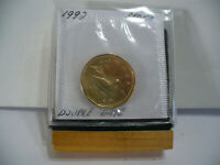 1992  CANADA  DOLLAR COIN  LOONIE TOP GRADE  SEE PHOTOS  92  PROOF LIKE  AUCTION