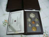 1995 CANADA PROOF SET DOUBLE DOLLAR SILVER AND LOON DOLLAR  HUDSON'S BAY