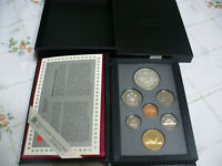 1994 CANADA PROOF SET DOUBLE DOLLAR SILVER AND LOON DOLLAR  DOG TEAM PATROL
