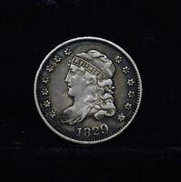 1829  HALF DIME USA   CAPPED BUST, EXTRA FINE