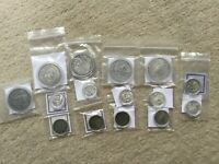2016 HOBO NICKEL COLLECTION 15 SILVER ROUNDS 1 & 5 OZ ANTIQUE PROOF FISHERMAN