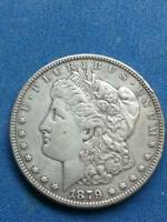 1879-S REVERSE OF 1878 MORGAN SILVER DOLLAR REV OF 78  COIN VAM 9