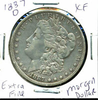 1887 O EXTRA FINE  MORGAN DOLLAR EXTRA FINE 90 US SILVER COIN  OLD $1 AUCTION CC193