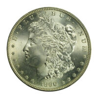 1890-S $1 MORGAN DOLLAR PCGS MINT STATE 65 3042-4