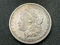 1887-O  MORGAN DOLLAR   EXTRA FINE        3 OR MORE  FREE S/H      90 SILVER   A822