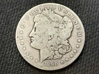 1890-S  MORGAN DOLLAR   G VG      3 OR MORE  FREE S/H      90 SILVER   A870