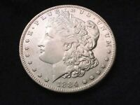 1884-S MORGAN DOLLAR MAGNIFICENT PROOF LIKE KEY DATE COIN    61