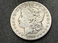 1880-S  MORGAN DOLLAR   VF      3 OR MORE  FREE S/H      90 SILVER   A882
