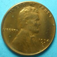 1954-S LINCOLN WHEAT CENT   COIN    SHIPS FREE